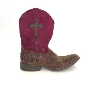 Ariat Kids Crossroads Boots Size 4